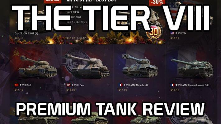 Top Tier Viii Premium Tanks Of 2019 Skill4ltu Hokx World Of Tanks Wot Reviews Bonus Codes