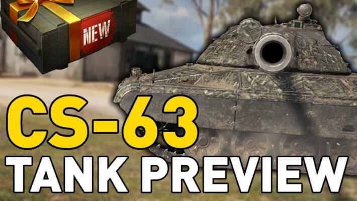 Cs 63 Quickybaby Hokx World Of Tanks Wot Reviews Bonus Codes